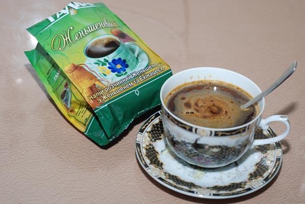 Заменитель кофе напиток растворимый